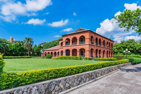 Fort San domingo historical landmark in Taipei