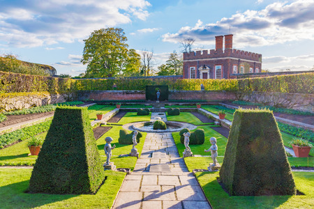 Royal Gardens of Hampton Court Palace Editorial
