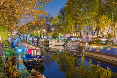 Little Venice night view in London