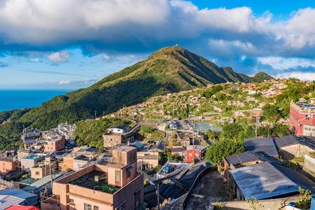 View of Jiufen village in Taiwan