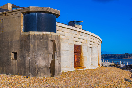 Hurst Castle in Hampshire, England Editorial