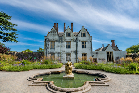 CARDIFF, UNITED KINGDOM - JULY 04: St Fagans Castle at the St Fagans National Museum of History on July 04, 2019 in Cardiff