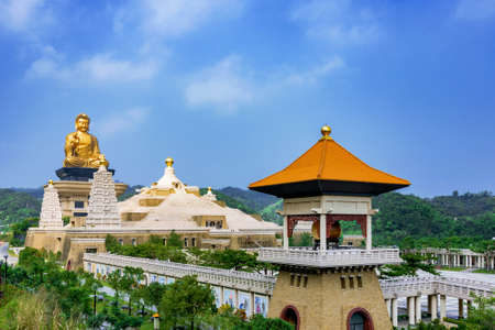 View of Fo Guang Shan Buddha statue with nature Stock Photo - 148733846