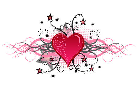Beautiful Valentinka to Valentines Day. Vector. Vector