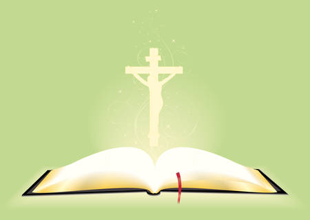 guidebook: Book of the Bible in the expanded form. Illustration
