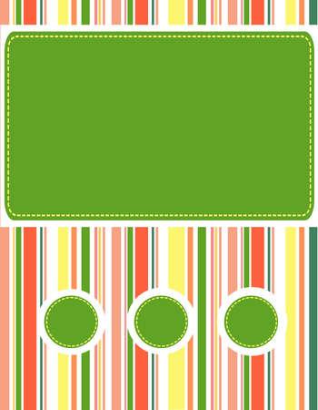mooie achtergrond: Nice background color polosku.Vektor Stock Illustratie