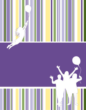 bring:  Beautiful, colorful, striped wallpaper. Vector.