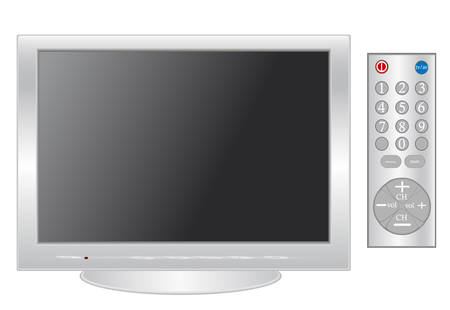 Plasma LCD TV Stock Vector - 5663597