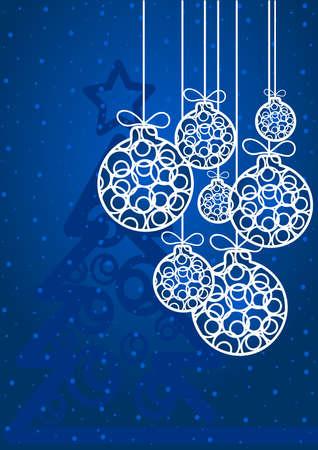 christmas vector: Christmas card. vector