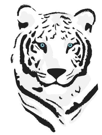 Vector beautiful tiger Stock Vector - 6100886