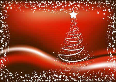 Christmas card. Vector. Vector