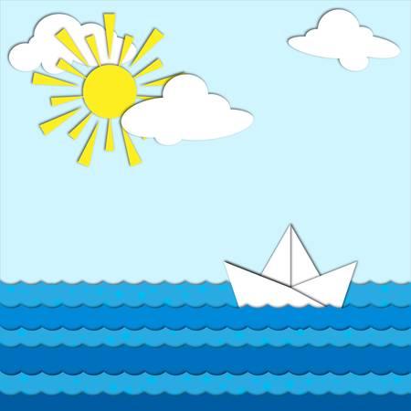 Origami paper Stock Vector - 14843707