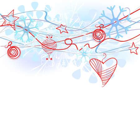 christal: Snowflakes background