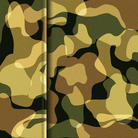 ruse: Camouflage khaki abstract texture