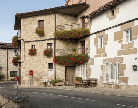 alava: Typical house of the Basque province of Alava in the Basque Country