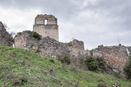 donjon: Ocio castle in ruins, Basque Country