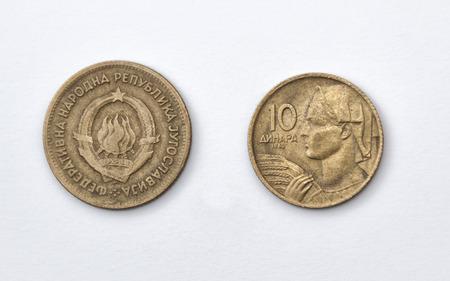 Ten Yugoslav dinars out of print, 1962