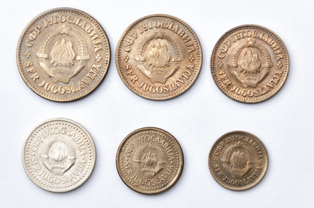 yugoslavia federal republic: Series uncirculated coins of former Yugoslavia