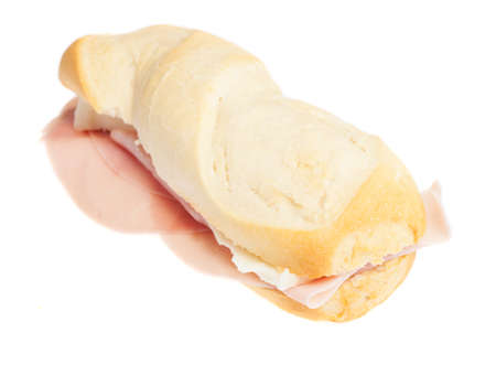 a sanwich isolated on a white background