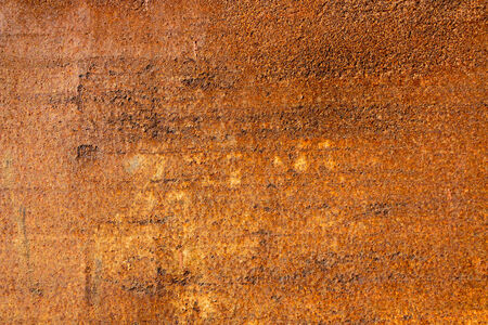 eroded: Abstract background texture of rusty iron