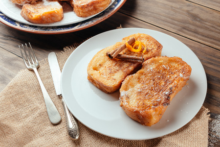Spanish torrijas Stock Photo