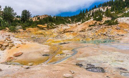 hell: Bumpass hell, Lassen volcanic national park