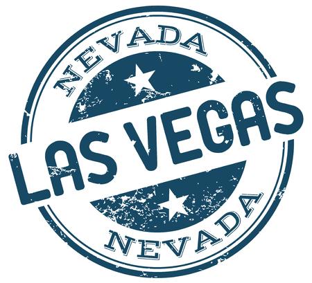 las vegas city: las vegas stamp