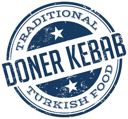 doner kebab stamp