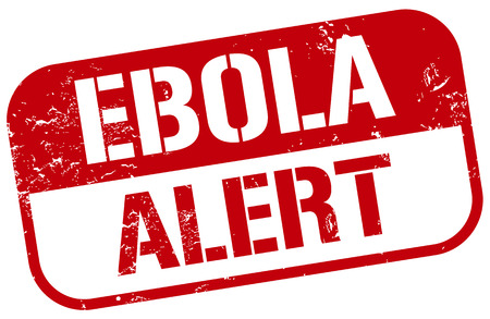 virus alert: ebola virus alert stamp
