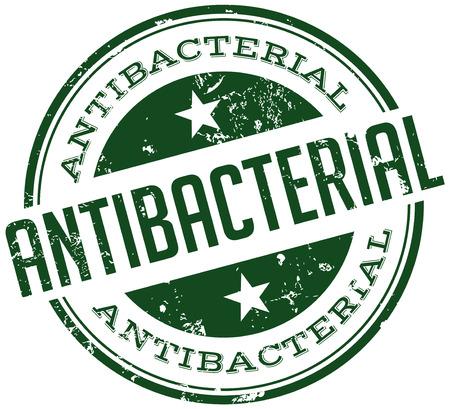 antibacterial stamp Vector