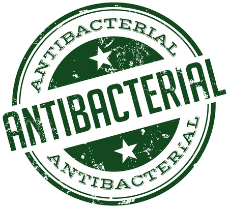 anti bacterial: antibacterial stamp