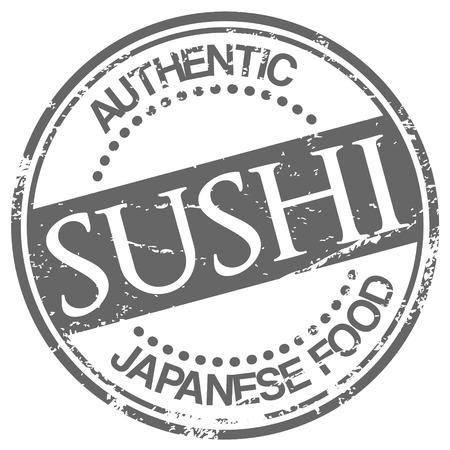 kobe: sushi stamp