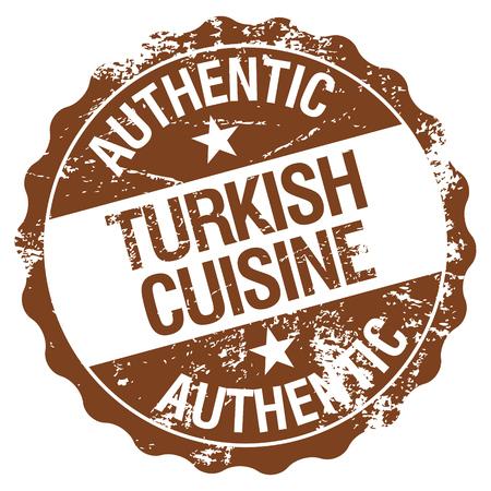 turkish dessert: turkish cuisine stamp