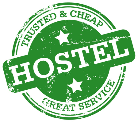 hostel stamp Stock Vector - 30823982