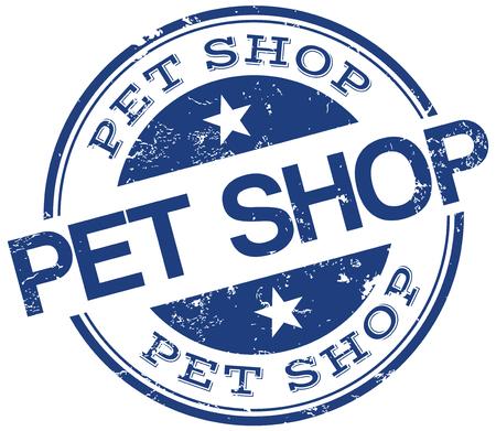 petshop: petshop stamp