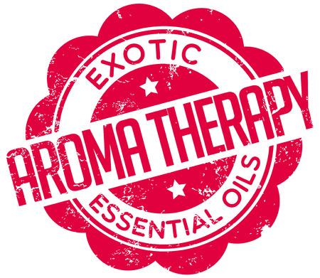 aroma therapy: aroma therapy stamp