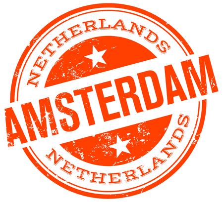 アムステルダムのスタンプ