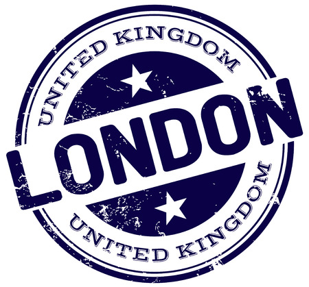 london stamp Vector
