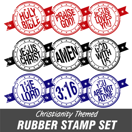 lamb of god: christianity themed stamps