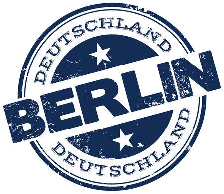 berlin: berlin stamp