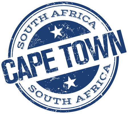 cape town: cape town stamp