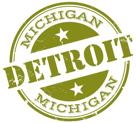 visit us: detroit stamp