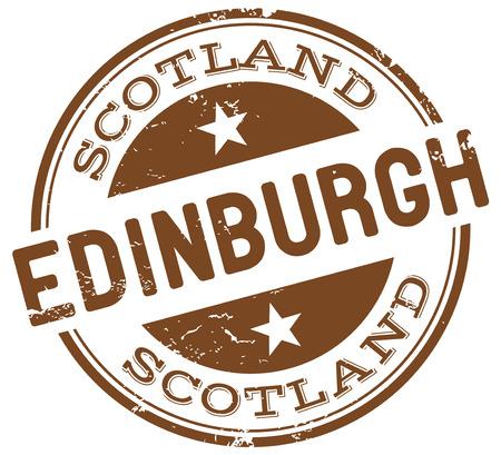 edinburgh: Edinburgh Stempel