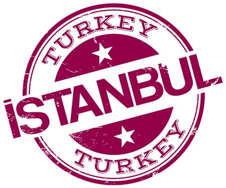istanbul stamp 向量圖像
