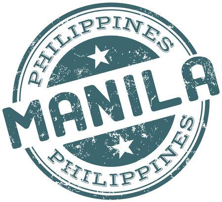 manila: manila philippines stamp