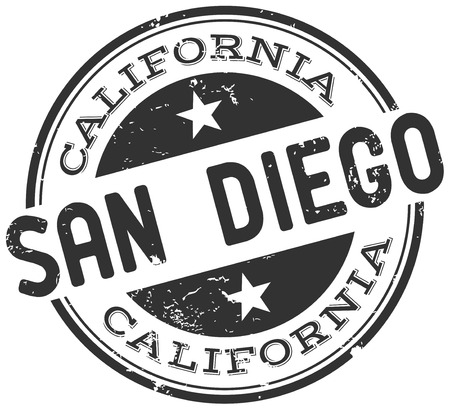 visit us: san diego stamp
