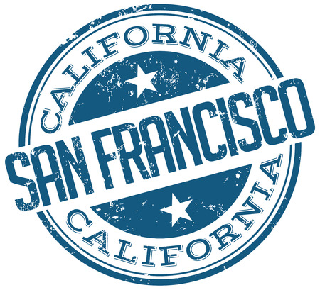 francisco: san francisco stamp