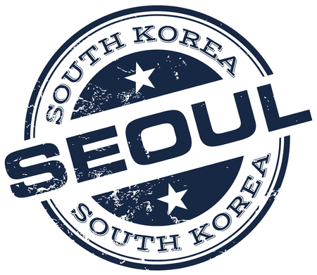 seoul: seoul stamp