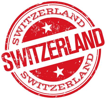 alpes suizos: sello suiza