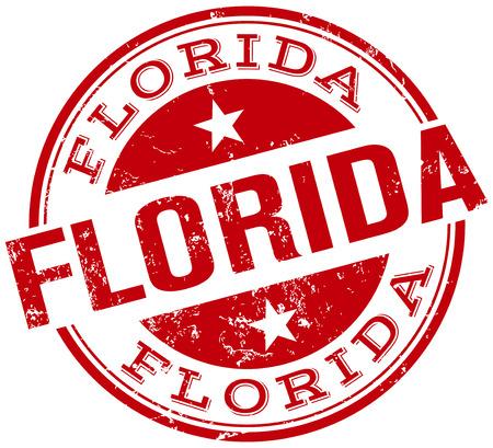 visit us: florida stamp